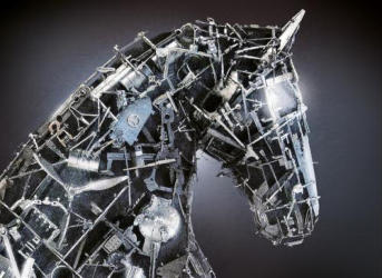 Les Troyens - Horse construct